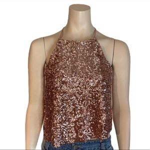 Atmosphere Sequinned Cami Top